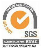 Vectalia cumple la ISO 9001