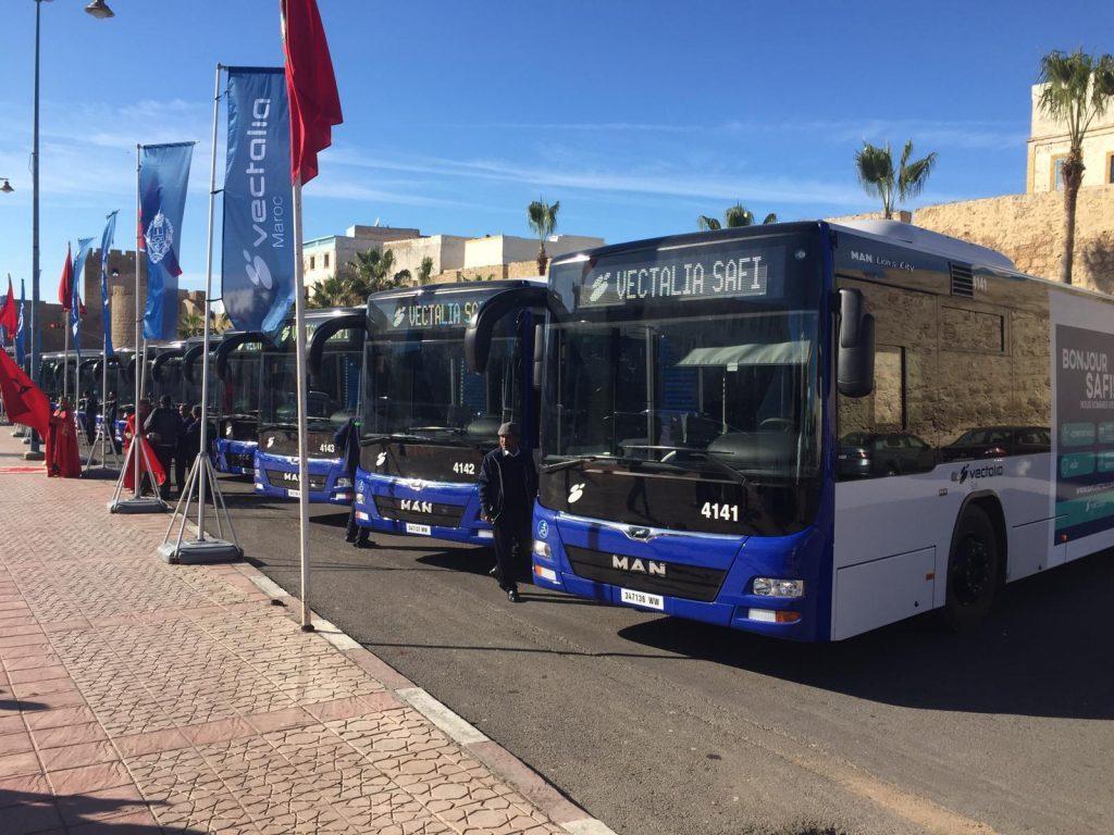 Transporte en Safí, Marruecos